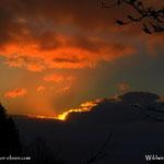 04.04.2021 - stärker bewölkt war der Himmel im Wechselgebiet, daher die Erwartung des Sonnenaufgang ein Stück weiter oben am Berg.....