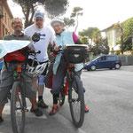 Radfahrer aus der Schweiz