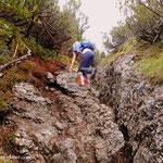 ...wir erklommen jedoch zuerst den Gipfel.....