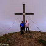 ...und wir sind wohlbehalten am Gipfel des Stoderzinken (2048 m) angelangt, super Annabella....