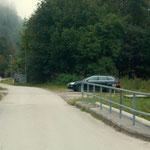 Parkplatz beim Tirolbach