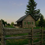 ....die alte Wildwiesenhütte.....