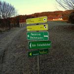 Nach der Überquerung der Feistritz führt mich mein Weg nun in Richtung Geierwand....
