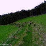 ...und weiter geht der Weg über schöne Wanderwege...