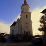 ...die Kirche in Birkfeld....