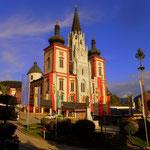 die Basilika in Mariazell.