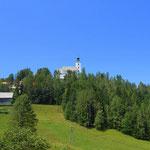 ein Blick zurück nach Sveti Duh