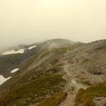 der Nebel reißt nicht wirklich auf