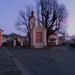schöner Dorfplatz in Strallegg
