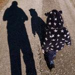 04.02.2021 - ....unsere tägliche Wanderung, Luis wird von Tag zu Tag motivierter, er reißt mich förmlich mit, der kleine Kerl.
