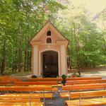 Lorettokapelle oberhalb von Mitterberg