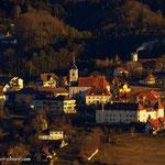 ...und zur Kirche und dem Schloss in Stubenberg.....