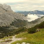 ....Blick vom G'hacktenbrunn ins Trawiestal....