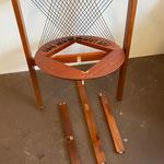 Details Strings (2) - String chair von Niels J. Haugesen, für Tranekær, 1980er, Dänisch