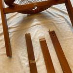 Details (2) - String chair von Niels J. Haugesen, für Tranekær, 1980er, Dänisch