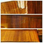 Übersicht Holzschäden - Holztisch von Jindrich Halabala, Tschechisch, 1930er Jahre Vintage