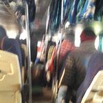 Busfahrt... mit Schlafplätzen