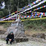 Wiedermal eine Stupa