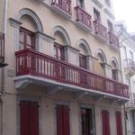L'entrée de la résidence Rue Richelieu