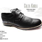 zapatos punta redonda con pasador livianos