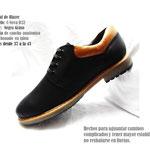 zapato negro con pasador calza karla