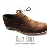zapatos oxford hombre cafe calza karla