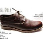 zapato de pasador marron
