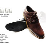 zapatos punta redonda casuales