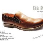 zapato cafe mocasin punta redonda verano