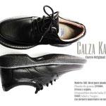 zapato ortopédico negro