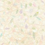 フリー素材・貼り絵・イメージ・花びら水色