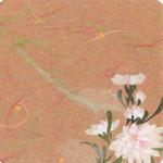 フリー素材・和風イラスト・貼り絵・白菊
