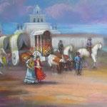 Feria de Abril - Firmado con el segundo apellido Rújula