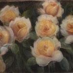 Roses groques - Guix sobre paper