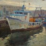 Barques al port de Barcelona