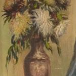 Gerro amb flors - Oli sobre tauler