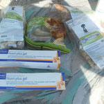 Aufbaupasten für kranke Tiere