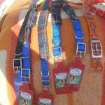 Halsbänder für die Hunde