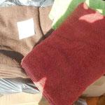 Handtücher für die Tiere