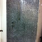 Beispiel Dusche mit Mosaikwand