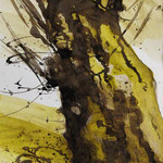 Tusche/Tinte, 50 x 35 cm