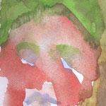 Die rote Suse, 17 x 13 cm