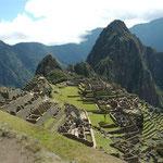 Machu Picchu (Peru). (Weitere Bilder aus Peru in den Galerien Peru I-II).