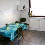 Sitzplatz bis 4 Personen in der Küche