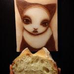 スープャノクードのHIBINO特製「ポーのパン」
