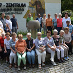 Gruppe des Kneippverein Amberg e. V. vor dem Kneipp Bund Hotel Bad Wörishofen