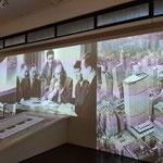 """Gropius und Mitarbeiter der """"TAC"""" (links) - """"PanAM"""" - Gebäude in New York  (rechts)"""