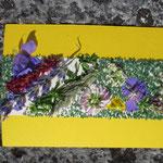 Blütenkarte