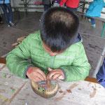 Holzwerkstatt - Bau eines Murmellayrinths