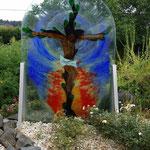 Glas und Natur
